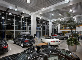 Car showroom cleaning Belfast Northern Ireland